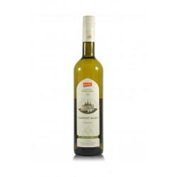 Cabernet Blanc 2015, pozdní sběr, biodynamické víno, Vinné sklepy Kutná Hora