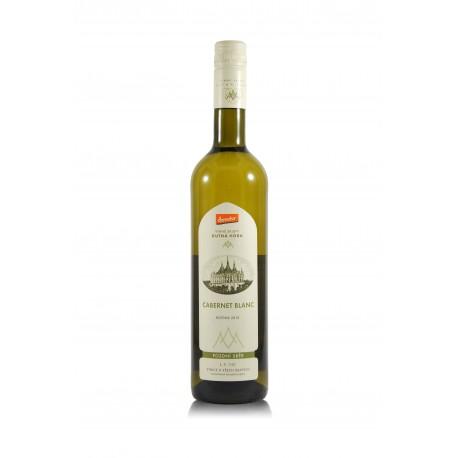 Cabernet Blanc 2015, biodynamické víno, Vinné sklepy Kutná Hora