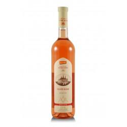 Cuvée rosé 2016, biodynamické víno, Vinné sklepy Kutná Hora