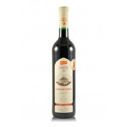 Cabernet cortis, výběr z bobulí 2015, biodynamické víno, Vinné sklepy Kutná Hora