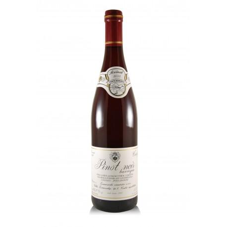Pinot Noir barrique 2015, výběr z hroznů, Žernosecké vinařství