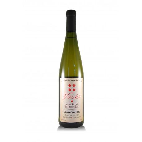 Cuvée no.1895, 2017, Vičické vinařství Mikulášek