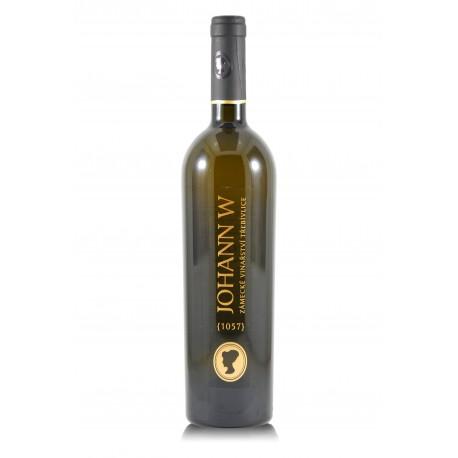 Johann W white cuvée 2015, suché, Zámecké vinařství Třebívlice - Johann W