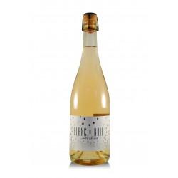 Sekt Blanc de Noir 2018, brut, Mělnické vinařství Kraus