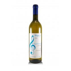 Chardonnay 2019, pozdní sběr, České vinařství Chrámce