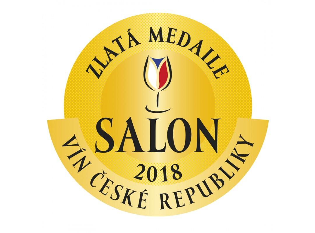 Salon vín ČR 2018 - zlatá medaile