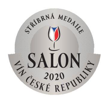 Salon vín ČR 2020 - stříbrná medaile